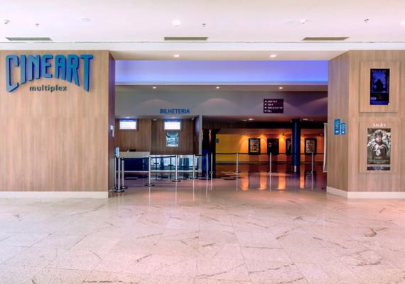 Cineart Multiplex Shopping Contagem