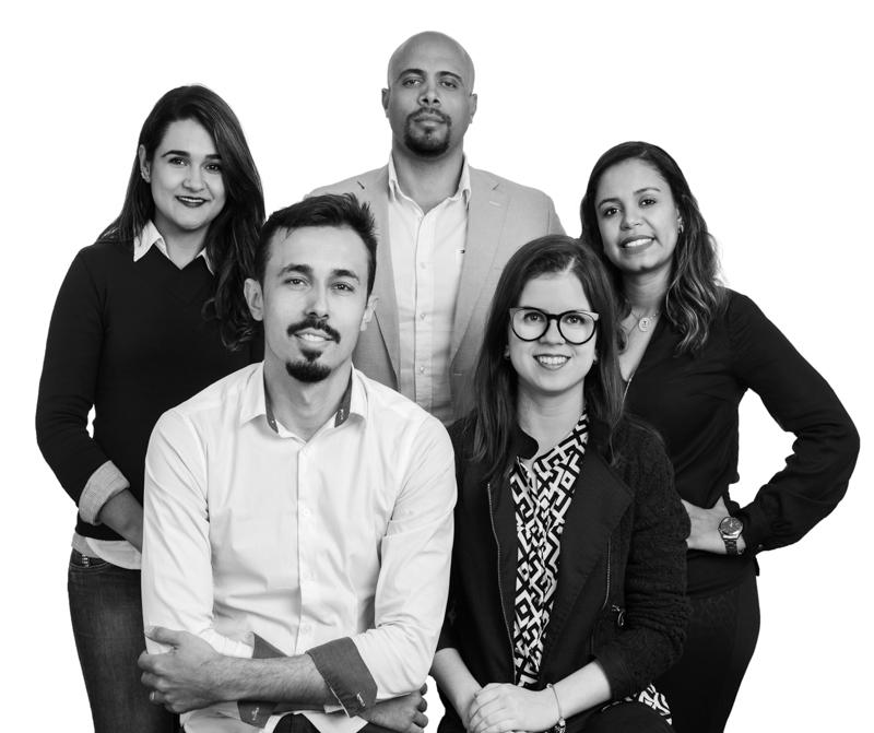 Alessandra Alonso Resende, Félix R. Silva, Uly Chaves, Roger Resende e Ana Luísa Castro - Foto Pedro Sales   PS Foto Design