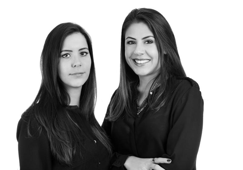 Hannah Gomes e Raquel Cheib - Foto Pedro Sales   PS Foto Design