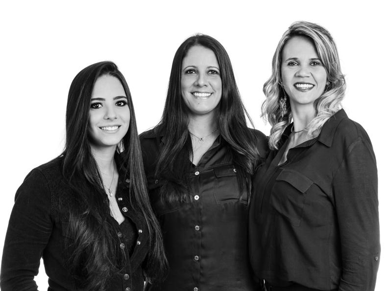 Jéssica Fantini, Simone Fantini e Fernanda Lourenço - Foto Pedro Sales   PS Foto Design