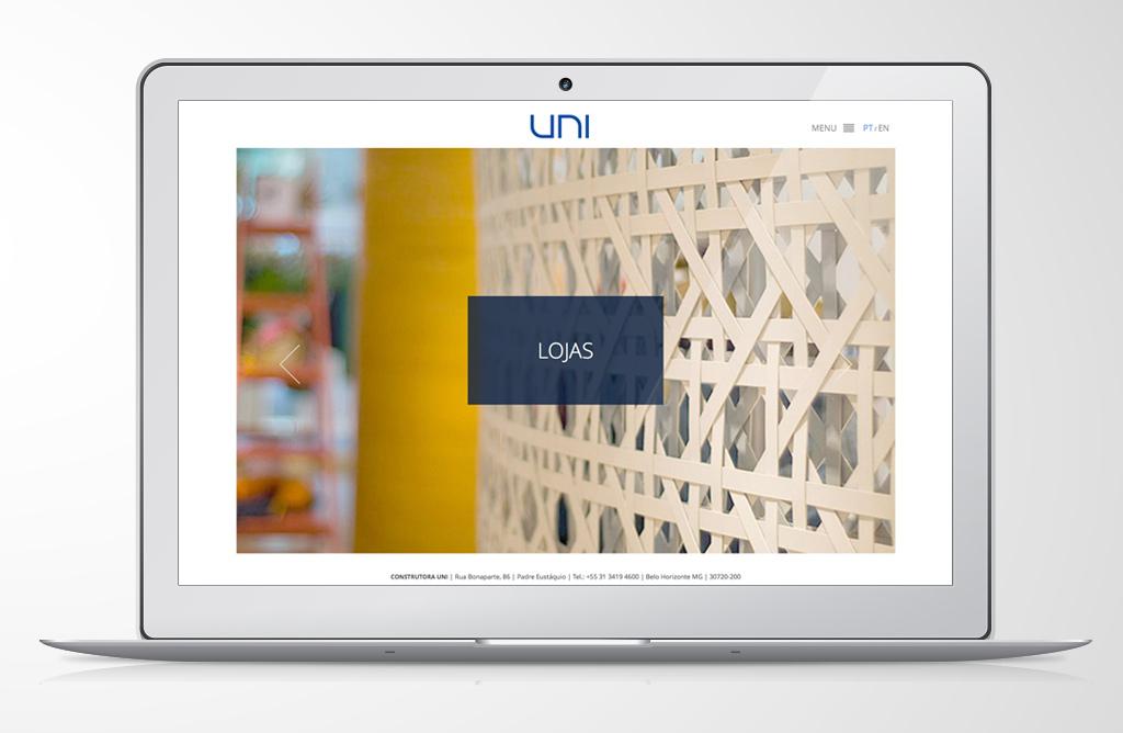 Site Construtora Uni