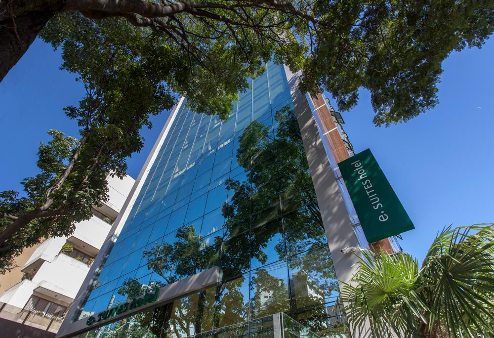 Fotografia de Arquitetura - Hotel e.Suites Sion - Projeto Sito Arquitetura - Fotografia Pedro Sales - PS Foto Design
