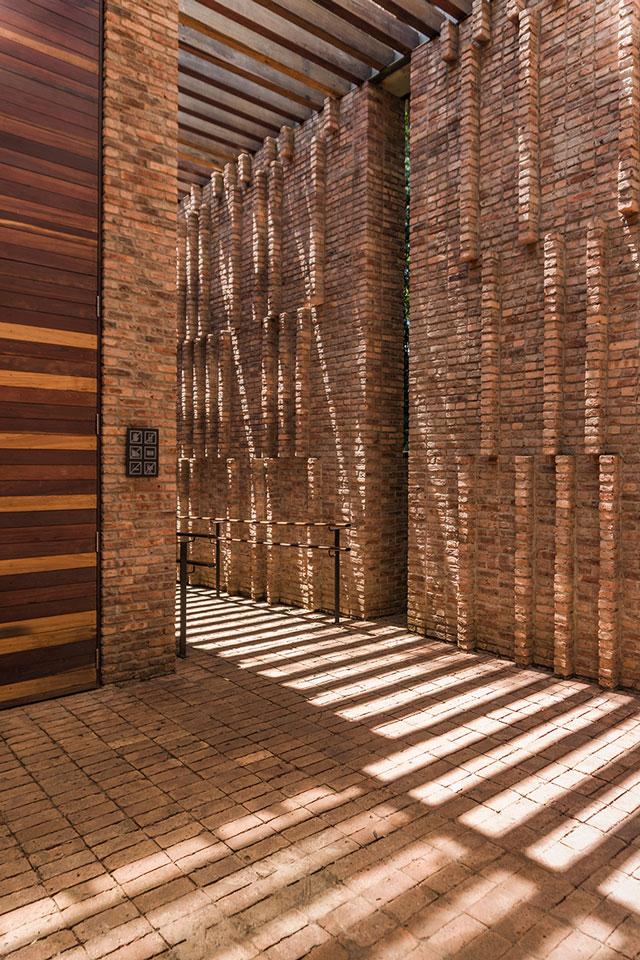 Detalhe Galeria Claudia Andujar - Inhotim - Foto: Pedro Sales | PS Foto Design