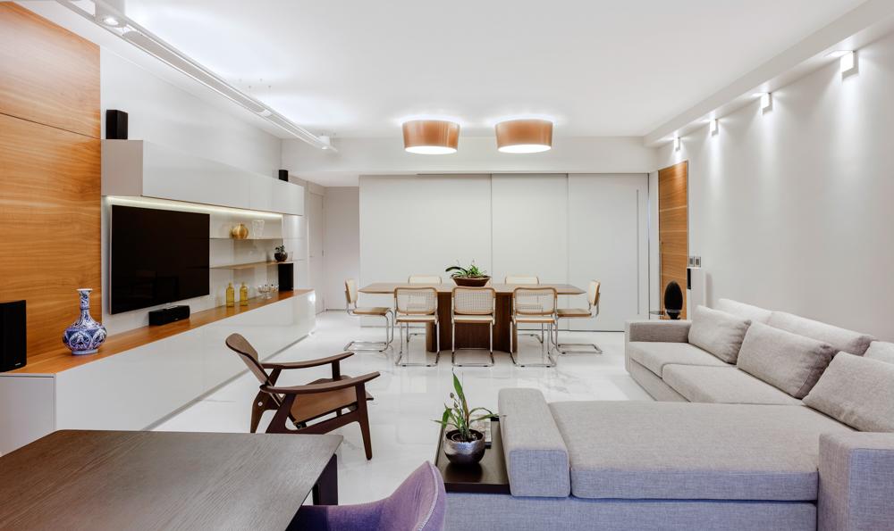 fotografia de interiores do apartamento - Foto Pedro Sales - PS Foto Design