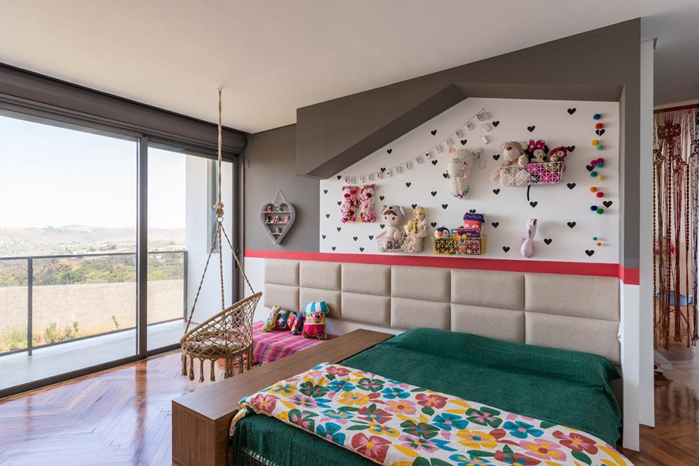 Quarto de Menina - Residência em São João Del Rei - Foto: Pedro Sales - PS Foto Design