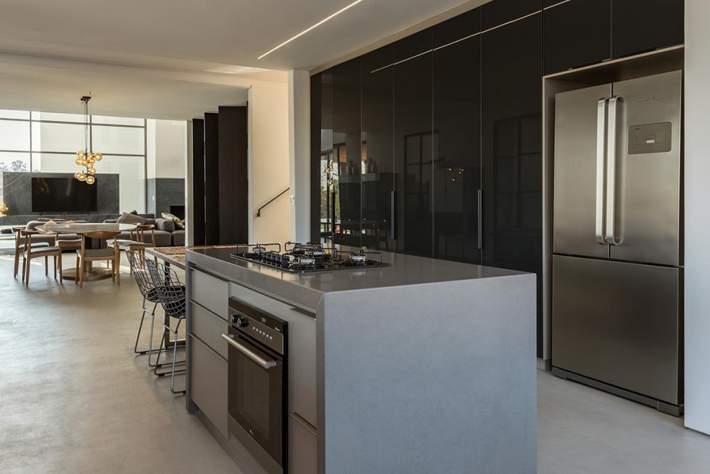 Cozinha da residência