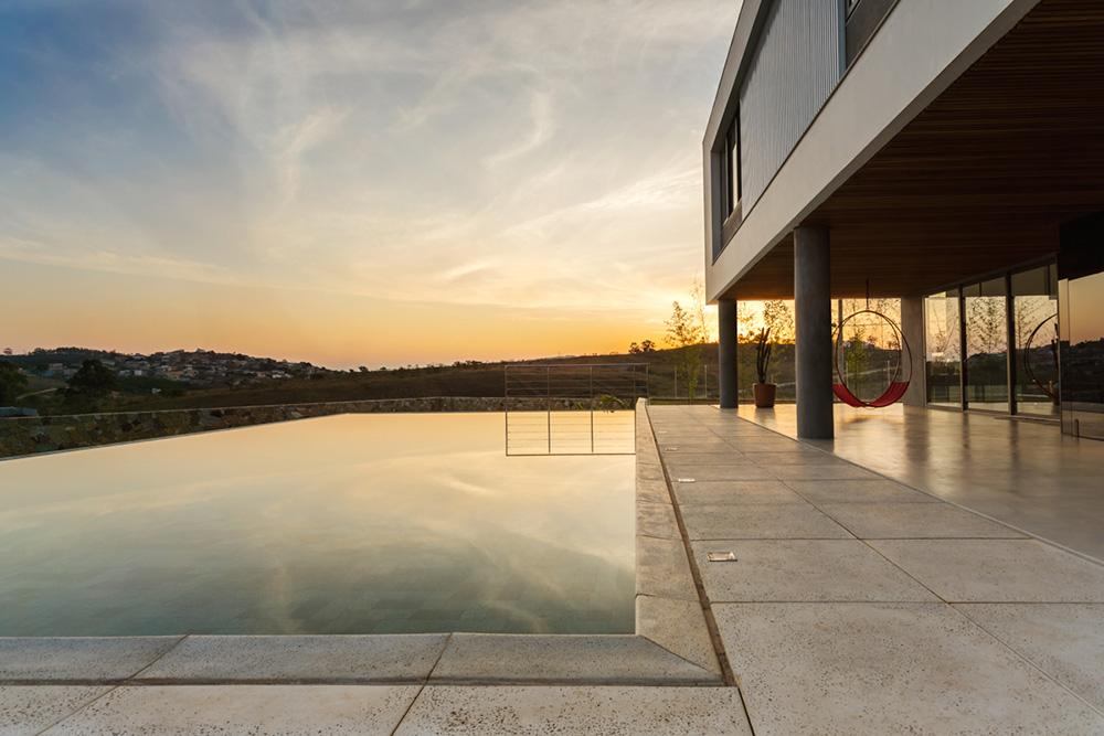 Detalhe casa minimalista em São João Del Rei - Foto: Pedro Sales PS Foto Design